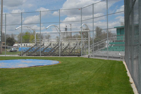 right field bleachers aurora mitchell  field