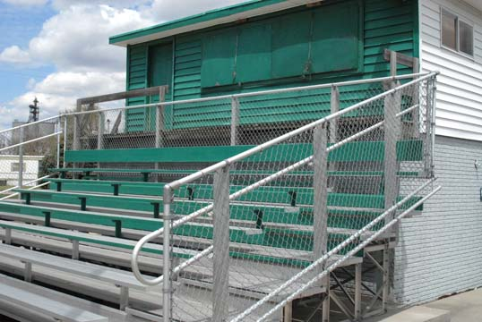 press box aurora nebraska  mitchell field