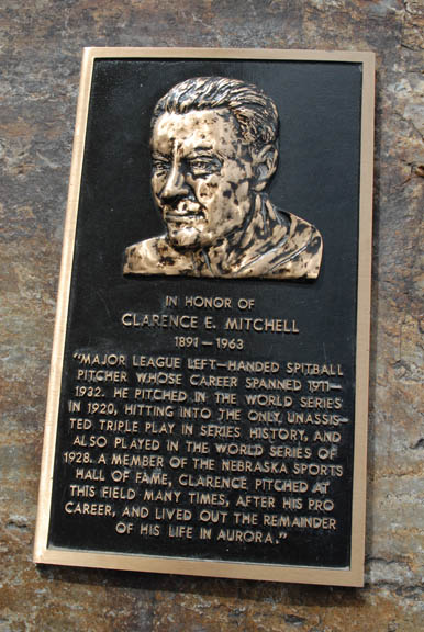 plaque of Clarence Mitchell