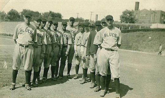 beatrice blues  team picture 1928