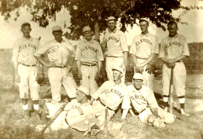 elkhorn Nebraska baseball early 1900