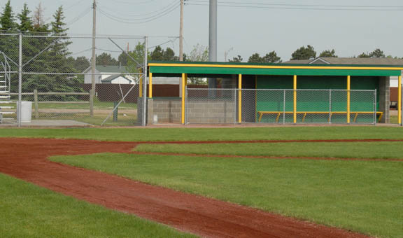 ONeill Nebraska Baseball entrance