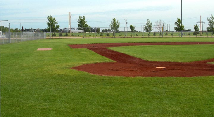 infield at O'Neill Nebraska