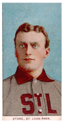 t206 George Stone Baseball Card